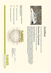 Zertifikat - Allgemeine Schadensrechte